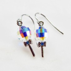 Crystal Lollipop earrings with SWAROVSKI® crystal